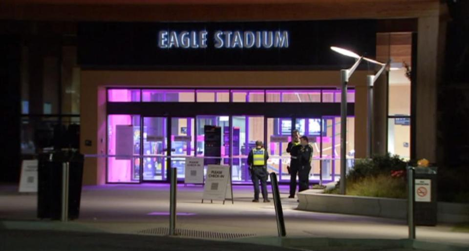 Onlookers reportedly watched on as the boy was stabbed on Friday night. Source: 7News