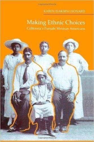 """<i><a href=""""http://www.amazon.com/Making-Ethnic-Choices-Californias-Americans/dp/1566392020/ref=sr_1_1?s=books&ie=UTF8&qid=1443554879&sr=1-1&keywords=making+ethnic+choices"""">Making Ethnic Choices</a></i>by Karen Leonard exploresthe hardshipsfaced by early Sikh and Punjabi migrants to the United States at the turn of the 20th century. <a href=""""http://www.amazon.com/Making-Ethnic-Choices-Californias-Americans/dp/1566392020/ref=sr_1_1?s=books&ie=UTF8&qid=1443554879&sr=1-1&keywords=making+ethnic+choices"""">Amazon writes</a>: """"Using written sources and numerous interviews, [Leonard]invokes gender, generation, class, religion, language, and the dramatic political changes of the 1940s in South Asia and the United States to show how individual and group perceptions of ethnic identity have changed among Punjabi Mexican Americans in rural California."""""""