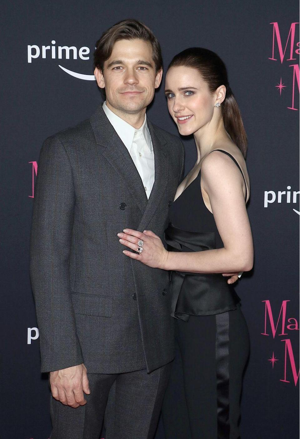 <p><strong>How long they've been together: </strong>Although the stars have kept mum about how they met, Brosnahan and Ralph were first linked in 2015. </p><p><strong>Why you forgot they're <strong>together</strong>: </strong>Brosnahan's profile has significantly grown with her success on <em>The</em> <em>Marvelous Mrs. Maisel, </em>so it wasn't surprising when reports began speculating that the longtime couple had tied the knot in 2018. What <em>was</em> surprising? That the couple had actually already been married for a long time—but they haven't revealed how long. </p>