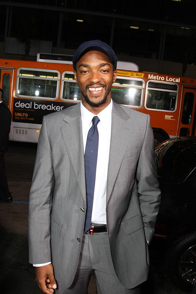 "<a href=""http://movies.yahoo.com/movie/contributor/1808440551"">Anthony Mackie</a> at the Los Angeles premiere of <a href=""http://movies.yahoo.com/movie/1809955918/info"">Eagle Eye</a> - 09/16/2008"