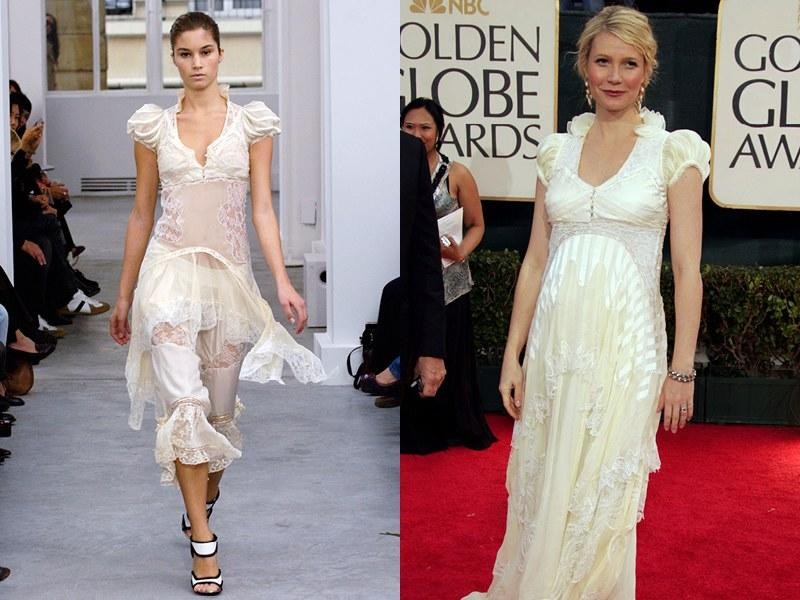 Balenciaga Spring 2006; Gwyneth Paltrow in 2006
