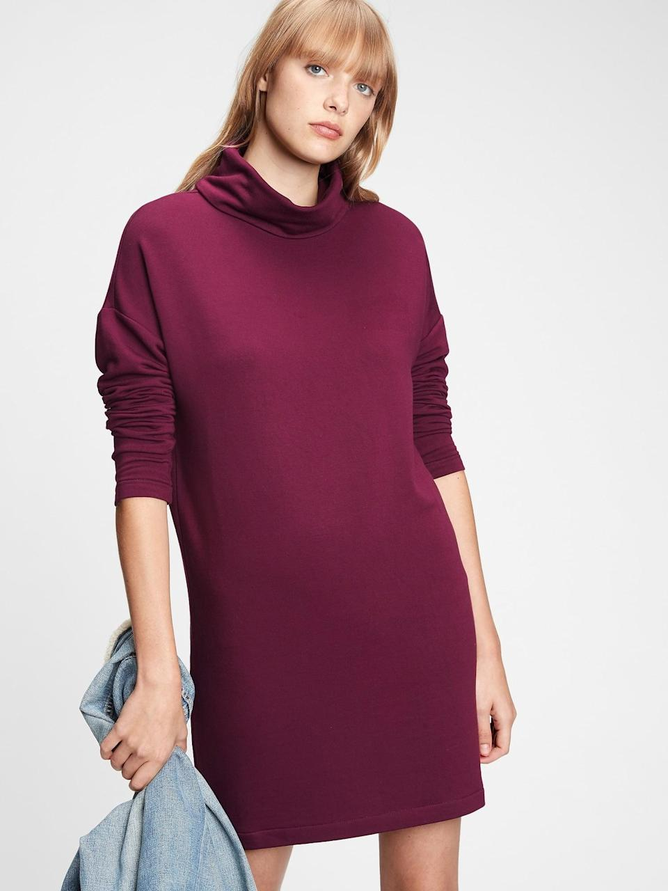 <p>This <span>Gap Cowlneck Dress</span> ($41, originally $70) is perfect for a romantic Valentine's Day stroll.</p>