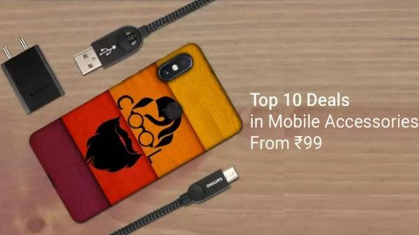 size 40 04500 6b61c Flipkart offers Top 10 Deals on Mobile Accessories starts form Rs 99