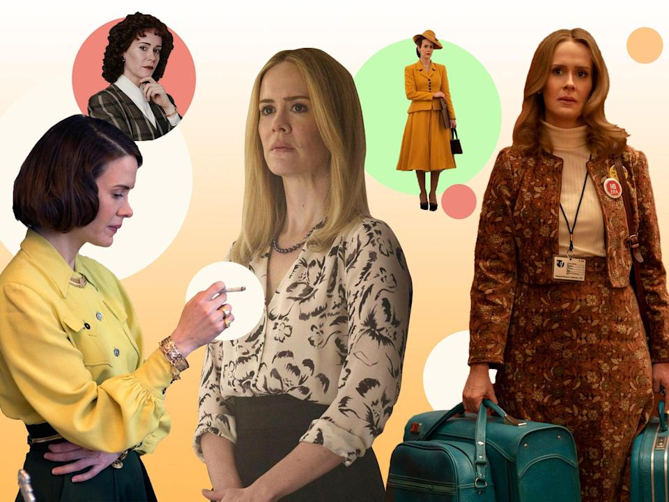 <p>She succeeds in turning every part, no matter how unlikely, into a Sarah Paulson part</p> (The Independent)