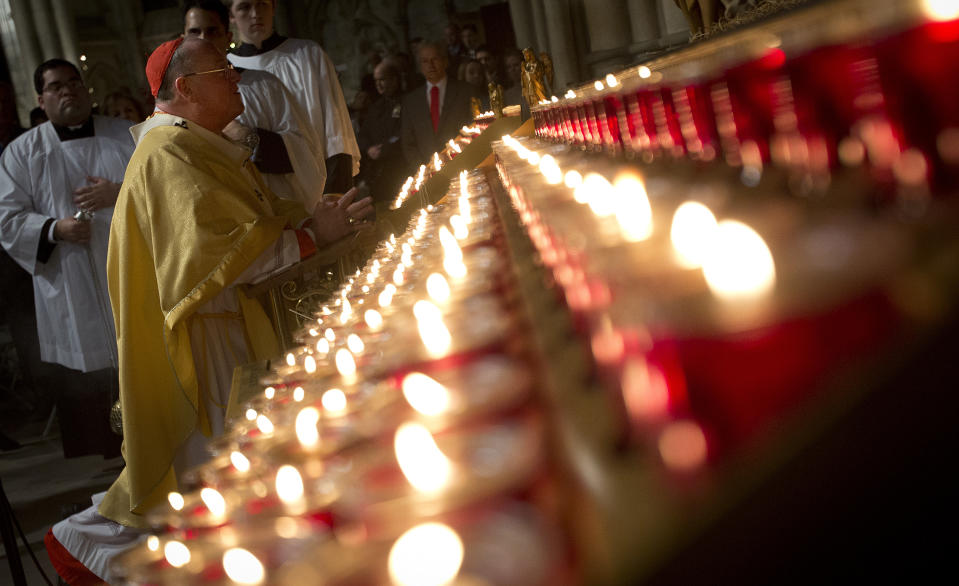 Attending a midnight Mass for Christmas — such as the one seen here, at St. Patrick's Cathedral in New York in 2013 — should be off the list this year, say experts. (Photo: REUTERS/Carlo Allegri)