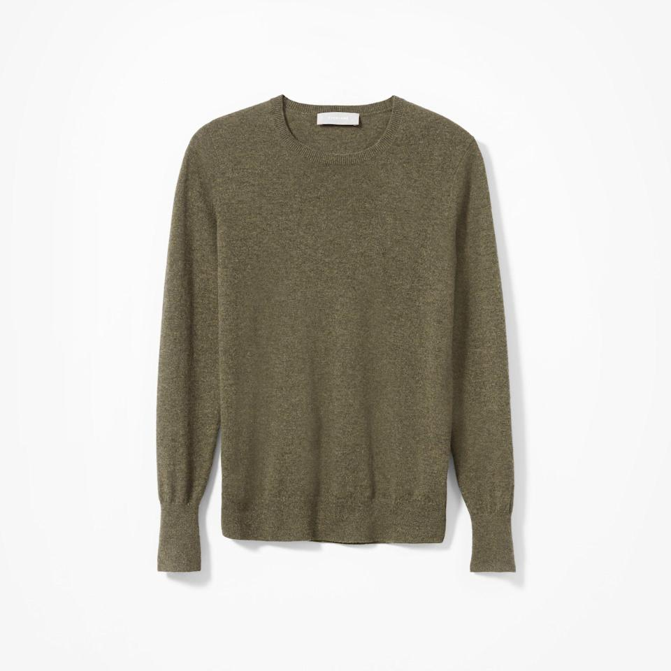 """<p><strong>everlane</strong></p><p>everlane.com</p><p><a href=""""https://go.redirectingat.com?id=74968X1596630&url=https%3A%2F%2Fwww.everlane.com%2Fproducts%2Fwomens-cashmere-crew2-loden&sref=https%3A%2F%2Fwww.townandcountrymag.com%2Fstyle%2Ffashion-trends%2Fg34822978%2Feverlane-cyber-monday%2F"""" rel=""""nofollow noopener"""" target=""""_blank"""" data-ylk=""""slk:Shop Now"""" class=""""link rapid-noclick-resp"""">Shop Now</a></p><p><strong><del>$100</del> $75 (25% off)</strong></p>"""