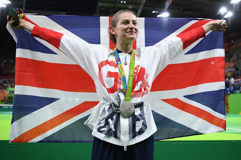 Bryony Page won trampoline silver for Team GB at the 2016 Olympics in Rio