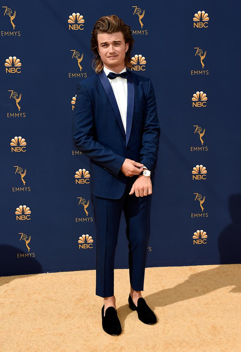 "Steve from ""Stranger Things"" is one of the most realistic and interesting teenage boys on TV. Steve from ""Stranger Things"" deserves better than these short pants and that long hair."