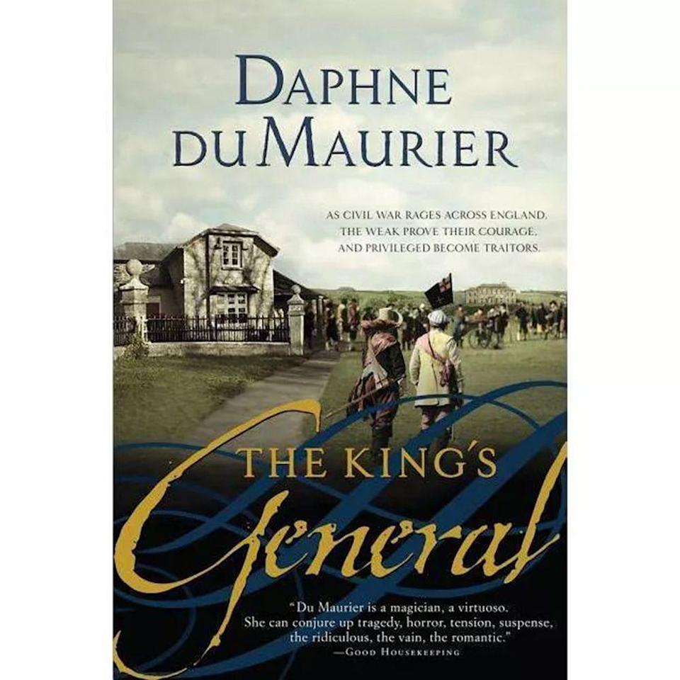 """<p>$19.99 <strong><a class=""""link rapid-noclick-resp"""" href=""""https://www.amazon.com/Kings-General-Daphne-du-Maurier/dp/1402217080?tag=syn-yahoo-20&ascsubtag=%5Bartid%7C10050.g.35033274%5Bsrc%7Cyahoo-us"""" rel=""""nofollow noopener"""" target=""""_blank"""" data-ylk=""""slk:BUY NOW"""">BUY NOW</a></strong></p><p><strong>Genre:</strong> Historical Fiction </p><p>Best known for the sweeping saga <em>Rebecca</em> (which was turned into a film by Alfred Hitchcock), this other novel by author Daphne du Maurier is set in the 1600s, with the English Civil War as a backdrop. </p><p>This tragic love story follows Honor Harris and Sir Richard Grenville, young lovers who are separated by war. Their paths cross again, but these star-crossed lovers don't have an easy romance. </p>"""