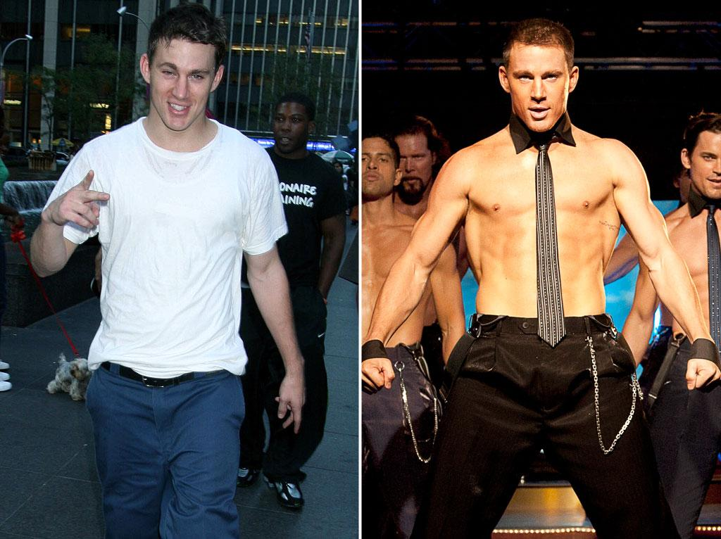 "Channing Tatum, now 32, was an athletic Tampa, Florida, student before he was famous, running track, playing football, soccer, baseball and performing martial arts. Like Pettyfer's character depicted in ""Magic Mike"" -- loosely based on Tatum's life -- Tatum too dropped out of college while on a football scholarship."