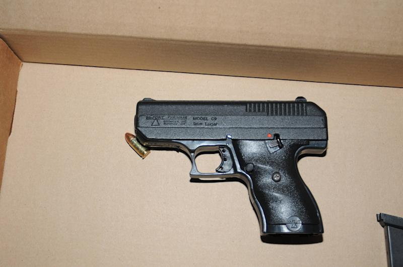 A handgun that was recovered following the officer involved shooting in Berkeley