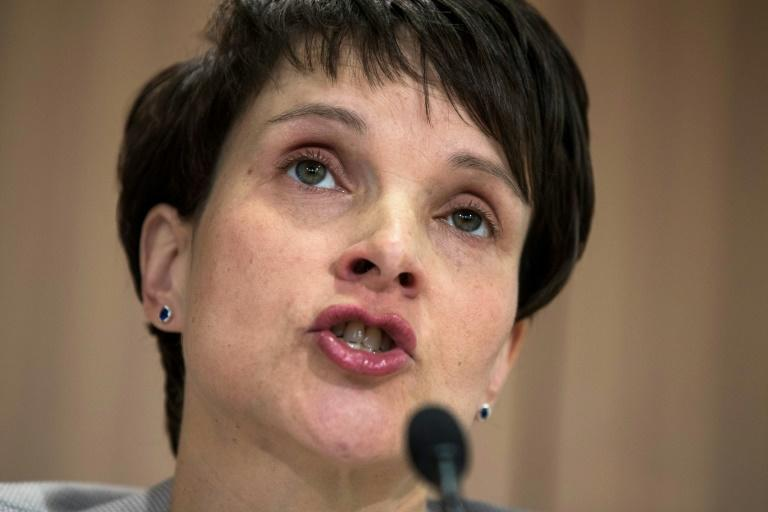 Frauke Petry, the telegenic public face of Germany's anti-immigration AfD, who has become embroiled in infighting