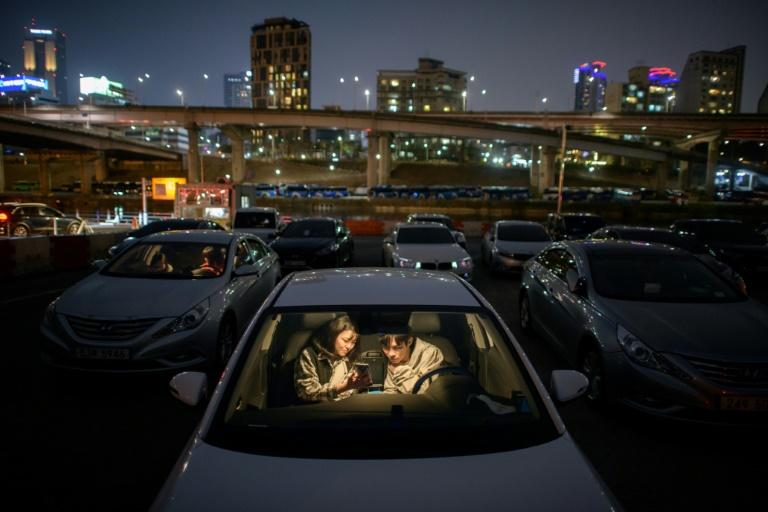 Moviegoers can enjoy a film from the comfort of their cars