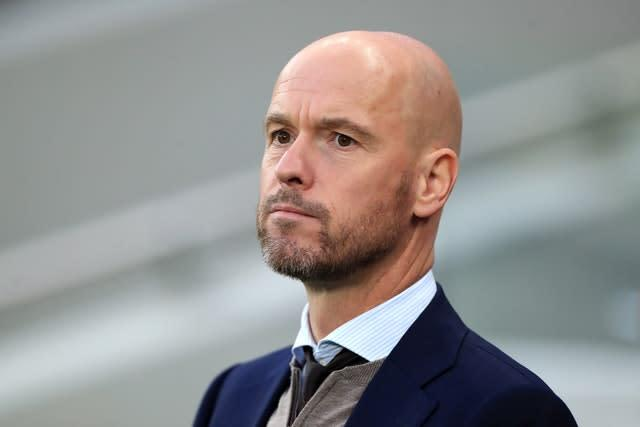 Erik Ten Hag saw his Ajax team beaten by Spurs in the Champions League semi-final last season (Mike Egerton/PA)