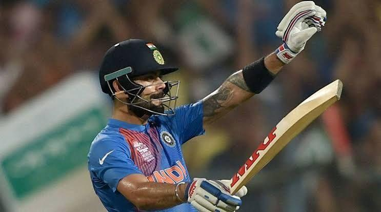 Kohli propelled India to victory against Pakistan in the 2016 World T20