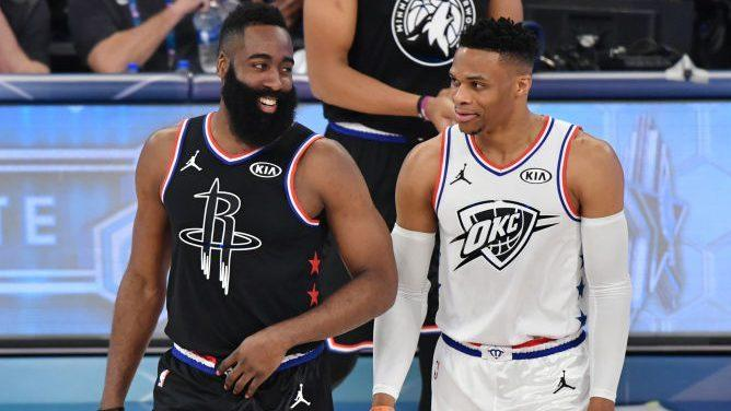 new styles 90794 0dcfb Can James Harden and Russell Westbrook fit the pieces ...