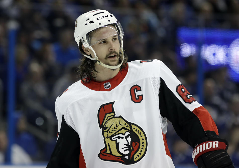 The Ottawa Senators parting ways with Erik Karlsson would have seemed unfathomable just months ago, but here we are. (AP Photo/Chris O'Meara)