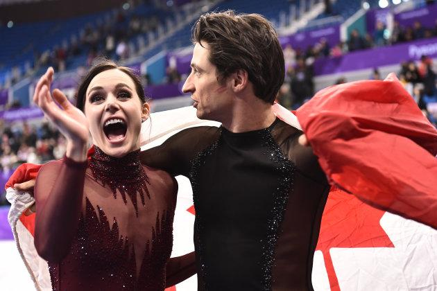 Canada's Tessa Virtue and Scott Moir have won five Olympic medals, the most of any figure skaters in history.