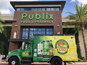 Reed's Inc.® (Nasdaq: REED), maker of the nation's leading portfolio of handcrafted, all-natural beverages, today announces expanded distribution with Publix Super Markets