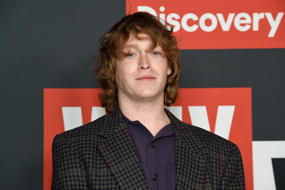 """Caleb Landry Jones attends Discovery Channel's """"Why We Hate"""" Premiere Screening on October 07, 2019. (Photo by Michael Kovac/Getty Images for Discovery, Inc.)"""