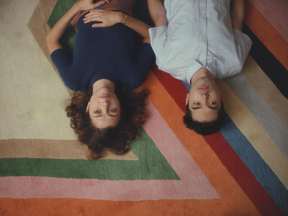 """<p>This unconventional rom-com tells the story of two roommates - one of whom is a struggling actress, the other a man struggling with OCD - who start up a relationship after moving in with each other, despite the fact that the man is gay. </p> <p><a href=""""http://www.netflix.com/title/81229555"""" class=""""link rapid-noclick-resp"""" rel=""""nofollow noopener"""" target=""""_blank"""" data-ylk=""""slk:Watch Straight Up on Netflix."""">Watch <strong>Straight Up </strong>on Netflix.</a> </p>"""