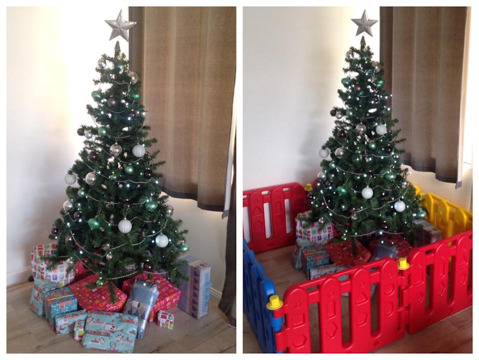 autism christmas tree protection