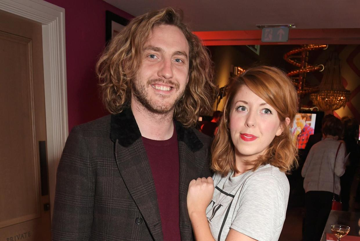 Seann Walsh's then girlfriend, actress Rebecca Humphries, accused him of gaslighting her. (Getty Images)
