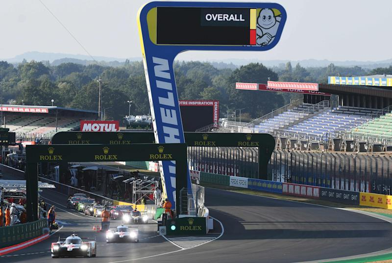 The Le Mans 24 Hours takes place this weekend three months later than planned (AFP via Getty)