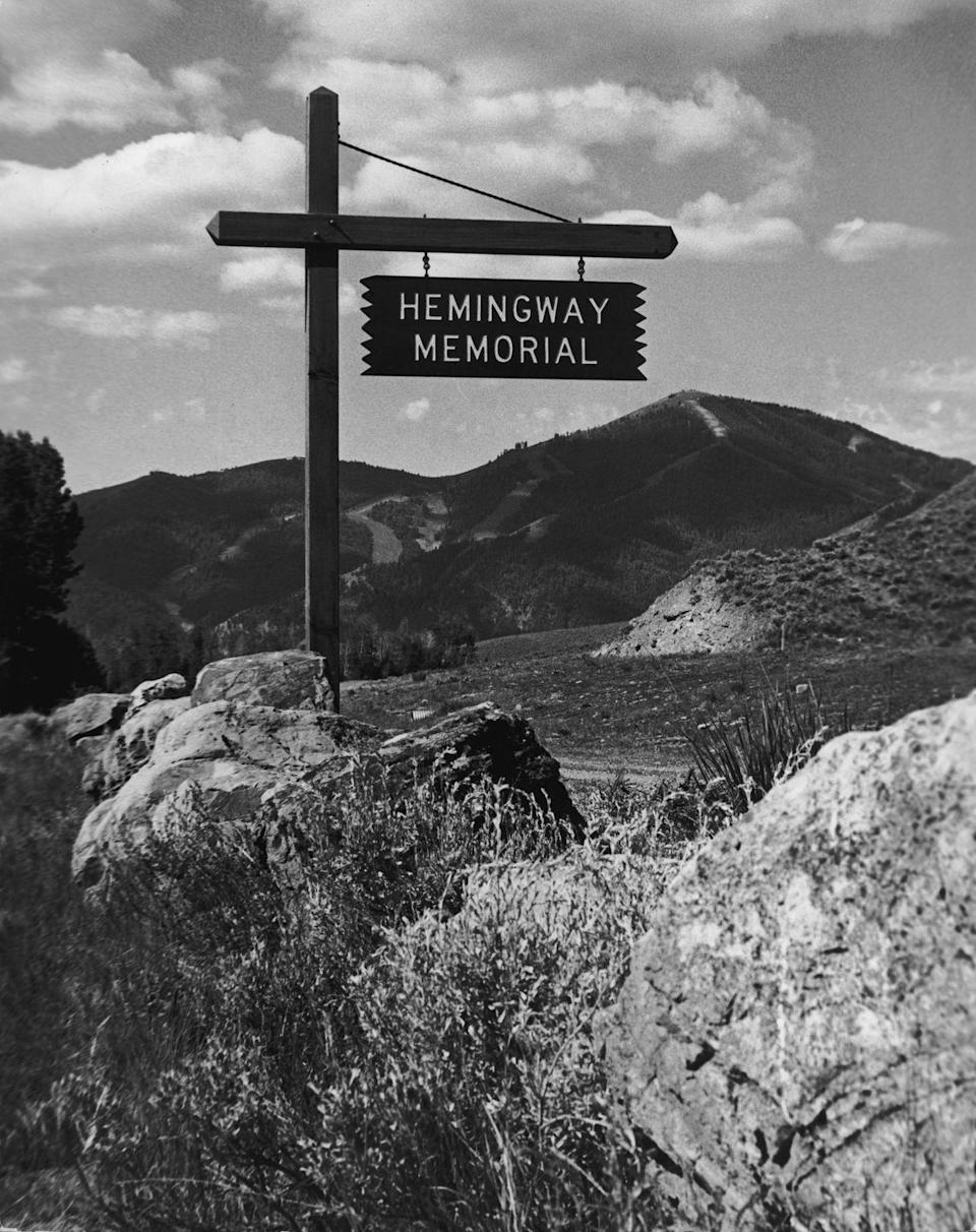 <p>The Hemingway Memorial stands in the author's beloved home in Sun Valley, Idaho. His legacy continues to live on as one of the literary world's most respected and influential authors of all time.</p>