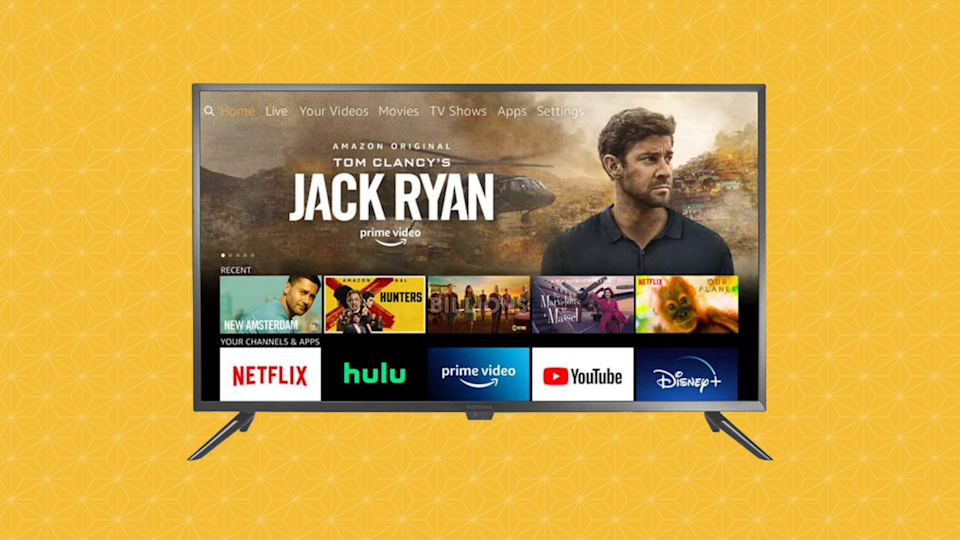 Get this Insignia 39-inch Smart HD TV—Fire TV Edition for just $180. (Photo: Amazon)