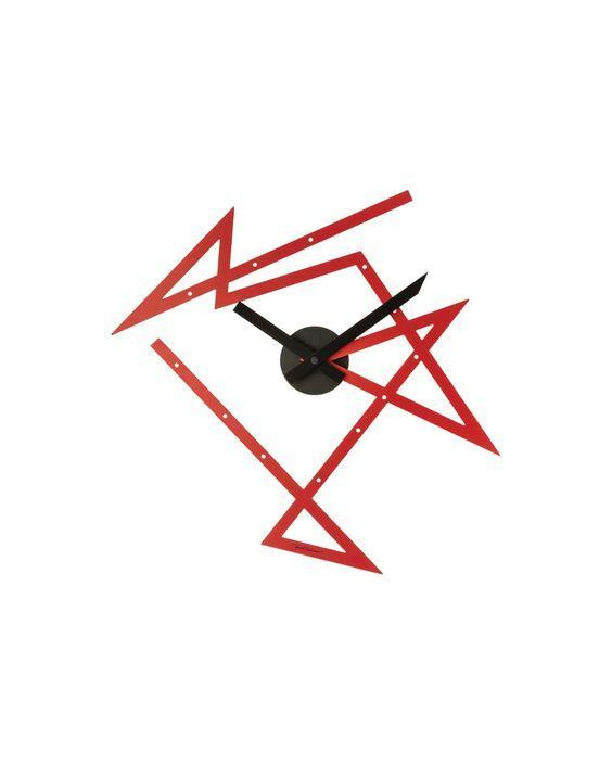 """Who needs numbers when you have this funky modern style? Wherever you install this, it will immediately become a focal point of the room. It measures 19.75 inches by 18.5 inches. $225, Alessi. <a href=""""https://us.alessi.com/collections/clocks/products/time-maze-wall-clock"""" rel=""""nofollow noopener"""" target=""""_blank"""" data-ylk=""""slk:Get it now!"""" class=""""link rapid-noclick-resp"""">Get it now!</a>"""