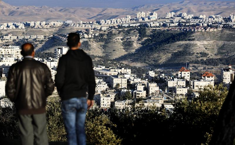 Israel has announced a major settlement expansion in the days following US President Donald Trump's January 20 inauguration (AFP Photo/THOMAS COEX)