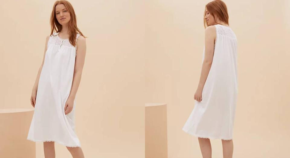 This top-rated nightie to snap up for summer. (M&S)