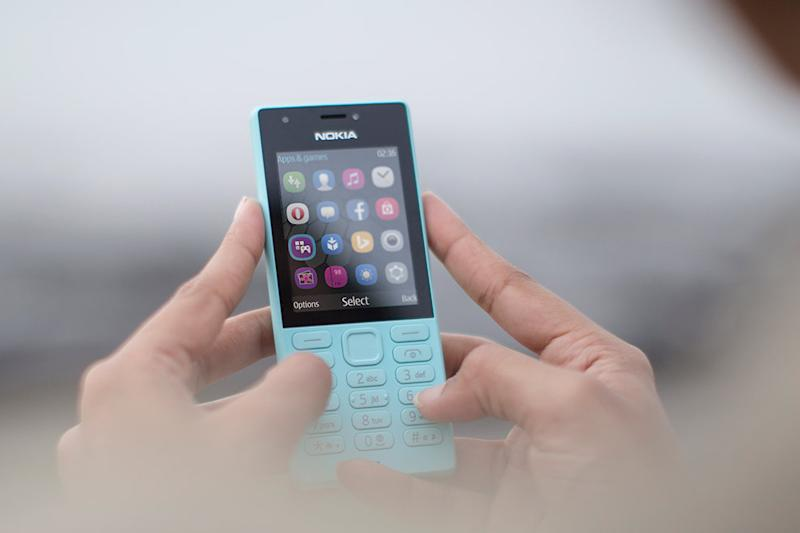 Surprise! Microsoft reveals a Nokia feature phone aimed at ...