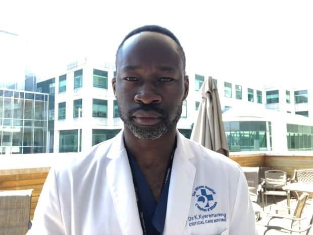 Dr. Kwadwo Kyeremanteng, an intensive and palliative care physician at the Ottawa and Montfort hospitals in Ottawa, believes schools should not have been closed in January, and should remain open until the end the term.