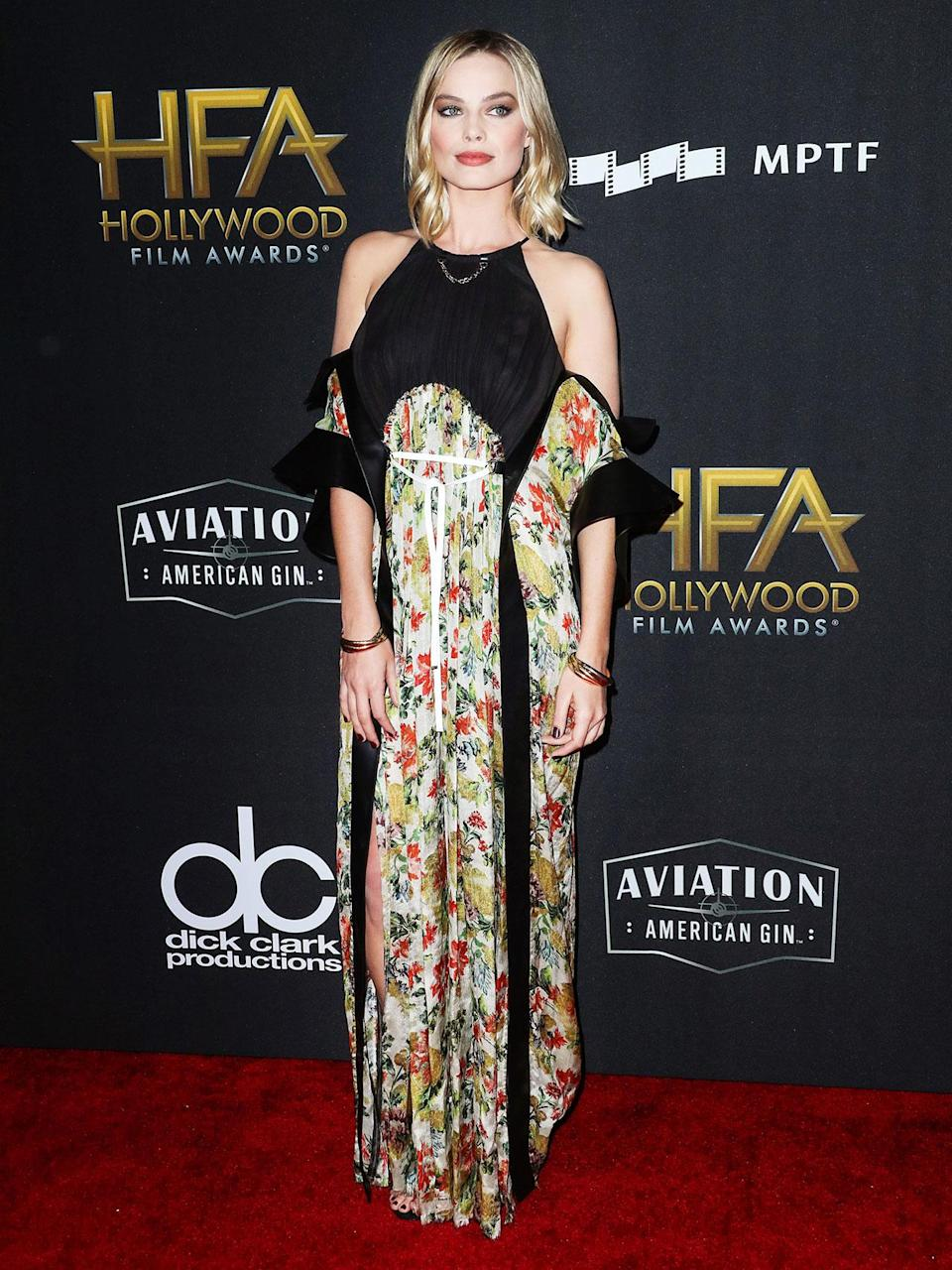 <h2>In Louis Vuitton</h2> <p>At the 21st Annual Hollywood Film Awards, Los Angeles, 2017</p> <h4>Splash News</h4>