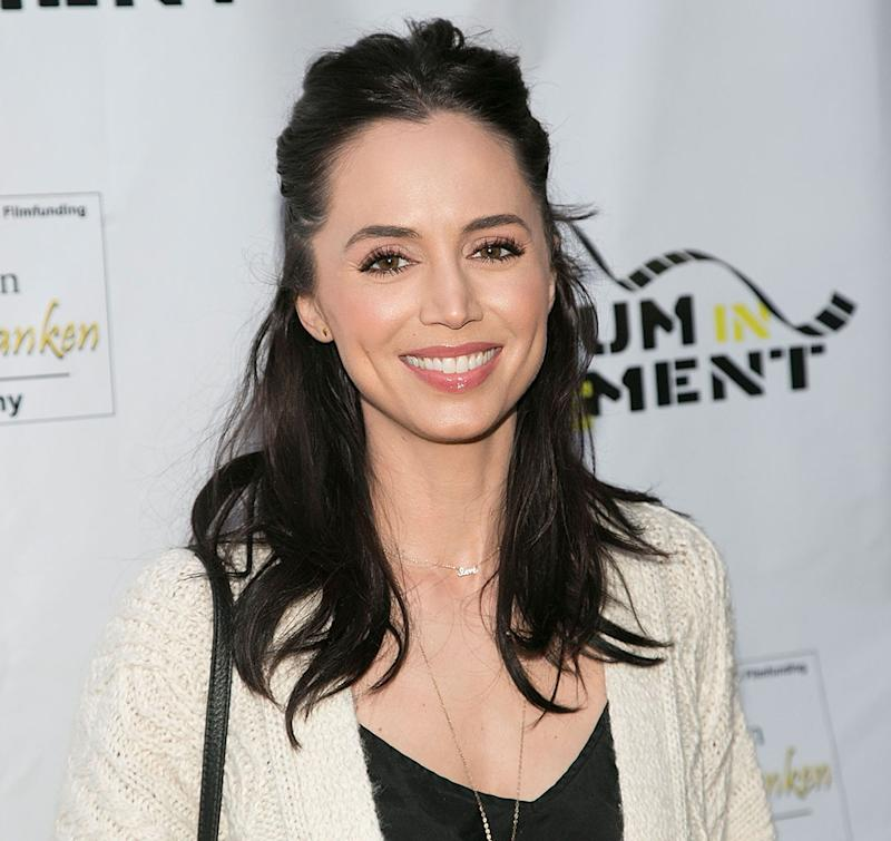 LOS ANGELES, CA - APRIL 27: Eliza Dushku arrives for the Atomic Age Cinema Fest -