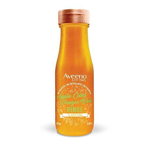 """<p><strong>Aveeno</strong></p><p>amazon.com</p><p><strong>$11.71</strong></p><p><a href=""""https://www.amazon.com/dp/B07HMVMTN5?tag=syn-yahoo-20&ascsubtag=%5Bartid%7C2140.g.37361342%5Bsrc%7Cyahoo-us"""" rel=""""nofollow noopener"""" target=""""_blank"""" data-ylk=""""slk:Shop Now"""" class=""""link rapid-noclick-resp"""">Shop Now</a></p><p>For a clarifying option that won't strip your hair of all its moisture, try Aveeno's apple cider blend. The ACV goes to work on buildup from sweat and other styling products, while oat soothes the scalp and delivers a dose of shine.</p>"""
