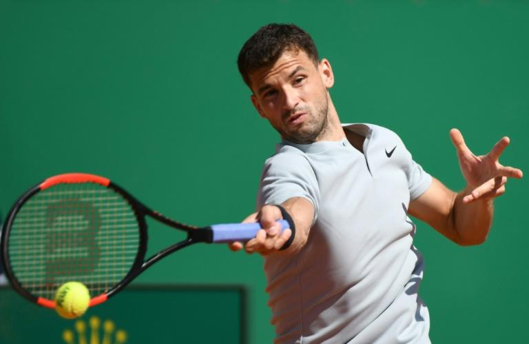 Grigor Dimitrov was too strong for David Goffin as he reached his first Monte Carlo semi-final