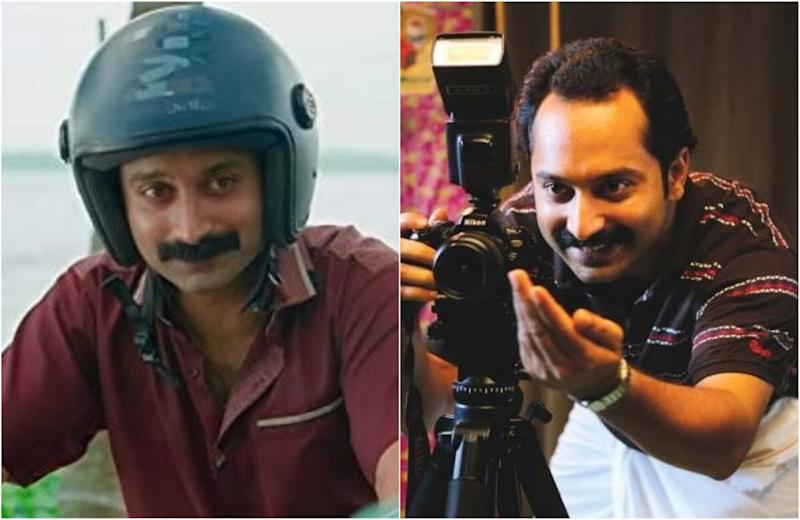 L-R: Fahadh Faasil in 'Kumbalangi Nights' and in 'Maheshinte Prathikaram' (Photo: Film stills)
