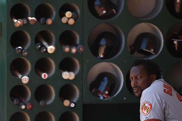 Future Hall of Famer Vladimir Guerrero had a special connection with his bats. (Getty Images)
