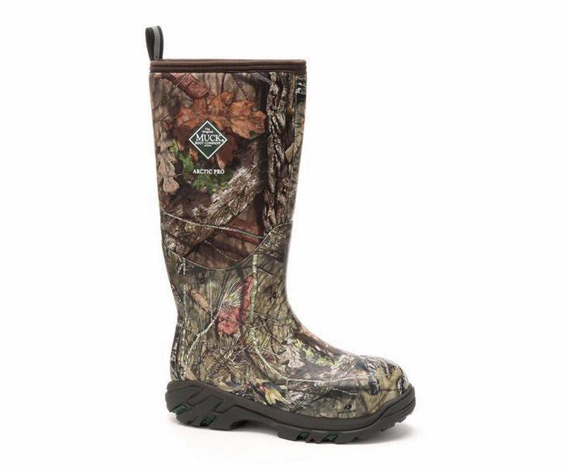 """<p><strong>Muck Boot</strong></p><p>amazon.com</p><p><strong>$214.95</strong></p><p><a href=""""https://www.amazon.com/dp/B01ELKP504?tag=syn-yahoo-20&ascsubtag=%5Bartid%7C10060.g.35567198%5Bsrc%7Cyahoo-us"""" rel=""""nofollow noopener"""" target=""""_blank"""" data-ylk=""""slk:Buy Now"""" class=""""link rapid-noclick-resp"""">Buy Now</a></p><p>Whether you're hunting turkeys, ducks, deer, or hogs, calf-high, fleece-lined Muck boots—such as the men's Arctic Pro and the women's <a href=""""https://go.redirectingat.com?id=74968X1596630&url=https%3A%2F%2Fwww.muckbootcompany.com%2Fcollections%2Fwomen-function-hunting%2Fproducts%2Fwomens-arctic-hunter-tall-boots&sref=https%3A%2F%2Fwww.popularmechanics.com%2Fadventure%2Foutdoor-gear%2Fg35567198%2Fhunting-gear%2F"""" rel=""""nofollow noopener"""" target=""""_blank"""" data-ylk=""""slk:Arctic Tall"""" class=""""link rapid-noclick-resp"""">Arctic Tall</a>—will keep your feet snug and dry when sloshing through, well, muck.</p><p><a class=""""link rapid-noclick-resp"""" href=""""https://www.popularmechanics.com/adventure/outdoor-gear/a26989647/best-mud-boots/"""" rel=""""nofollow noopener"""" target=""""_blank"""" data-ylk=""""slk:More Rubber Boot Reviews"""">More Rubber Boot Reviews</a></p>"""