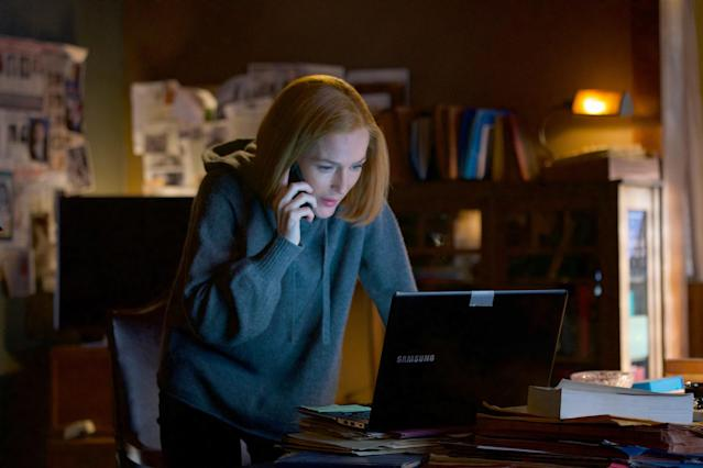 Gillian Anderson in what may be her last-ever episode of <em>The X-Files</em>. (Photo: Shane Harvey/Fox)