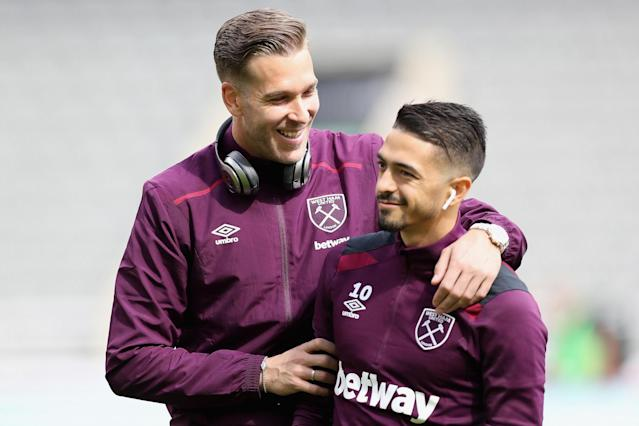 Manuel Lanzini ready to make West Ham return, according to Adrian