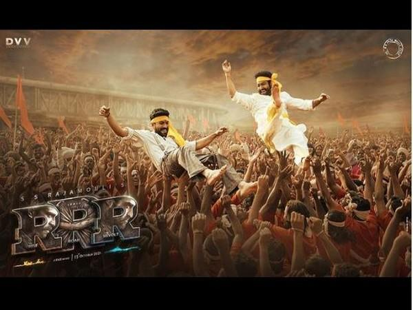 'RRR' poster (Image courtesy: Instagram)