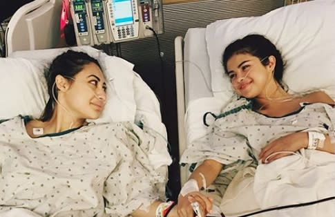 Selena Gomez revealed she's been recovering from a kidney transplant