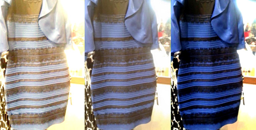 It's been 5 years since #TheDress went viral, and people still can't decide what colors it is. (Photo: Cecilia Bleasdale)