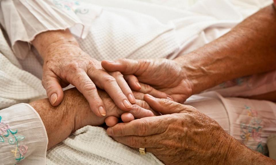 The government has urged people to care for their ageing parents, to compensate for any social care inefficiencies.