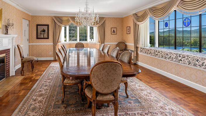 The dining room. - Credit: Photo: Courtesy of Francois Gagne