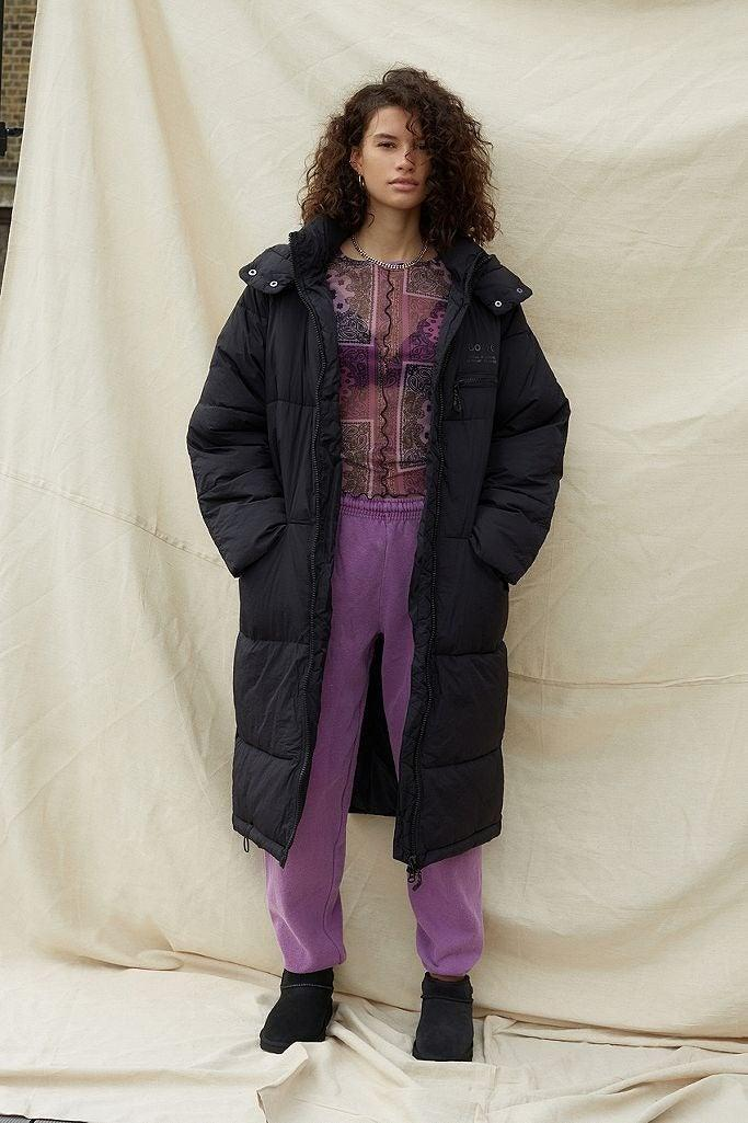 """<br><br><strong>UO</strong> Yumi Maxi Puffer Jacket, $, available at <a href=""""https://www.urbanoutfitters.com/en-gb/shop/uo-yumi-maxi-puffer-jacket?"""" rel=""""nofollow noopener"""" target=""""_blank"""" data-ylk=""""slk:Urban Outfitters"""" class=""""link rapid-noclick-resp"""">Urban Outfitters</a>"""
